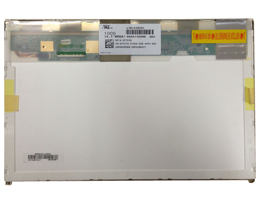 LTN141BT01 004 002 LP141WP2-TLA1 (TL)(A1) TLA2 FOR <font><b>DELL</b></font> E6400 <font><b>1435</b></font> notebook laptop lcd screen 50pins 1440*900 image