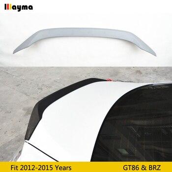 Para a toyota 86 aerofólio traseiro de fibra de vidro para Subaru BRZ estilo spoiler traseiro asa Para Scion GT86 AD 2012 -2015 FRP Primer asa