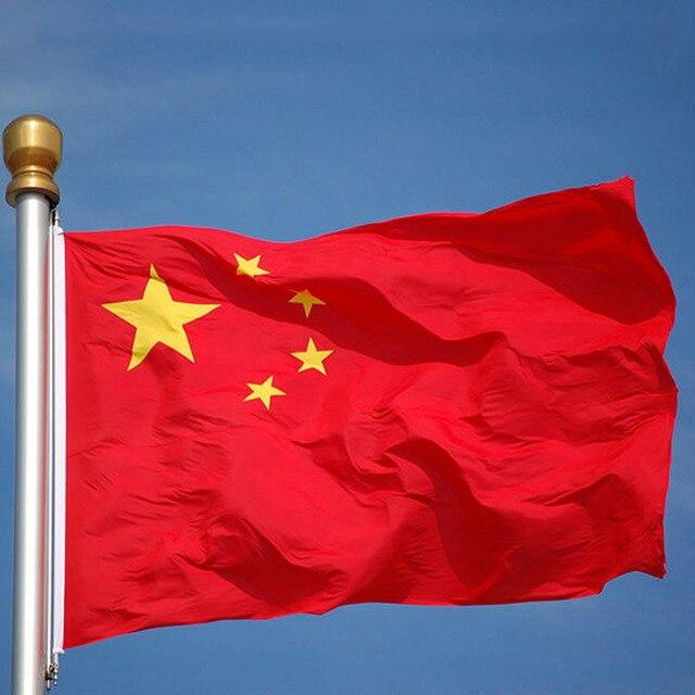 HOT! China Flag Chinese National Flag Banner Festival