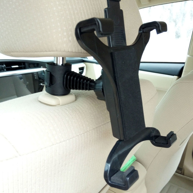 Premium Car Back Seat Headrest Mount Holder Stand For 7-10 Inch Tablet/GPS/IPAD 4