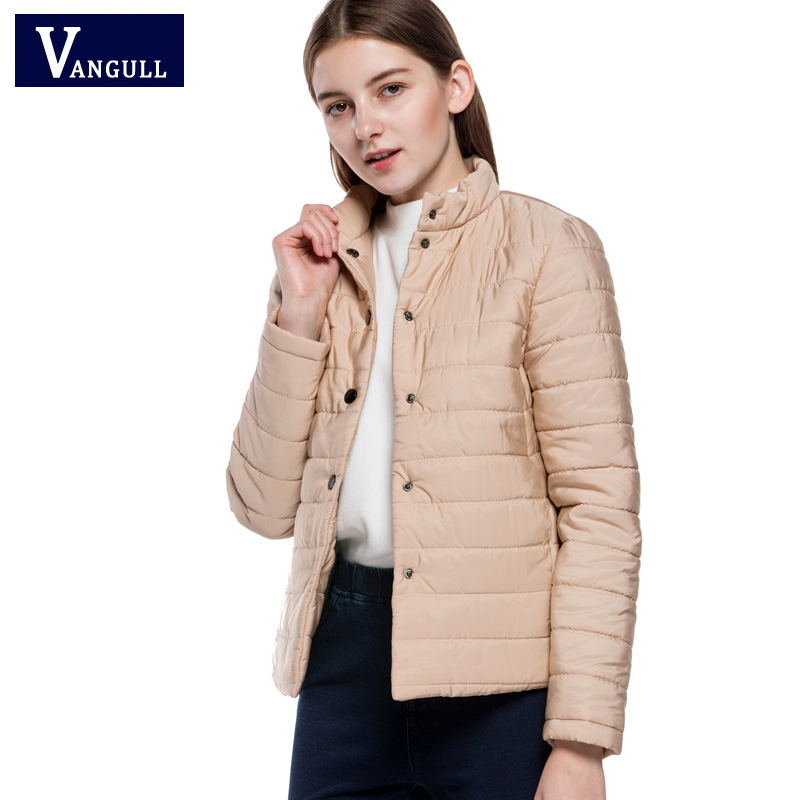 2017 new winter hot-sell woman England style coat fashion loose casual short lady sweet light pink color thin but warm parkas hot style three points children quilted loose coat
