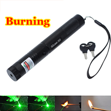 High Power Burning Laser Pointer Sdlaser 303 2000mw 532nm Powerful Green Laser Pointer Pop Ballon Astronomy Lazer Pointers Pens
