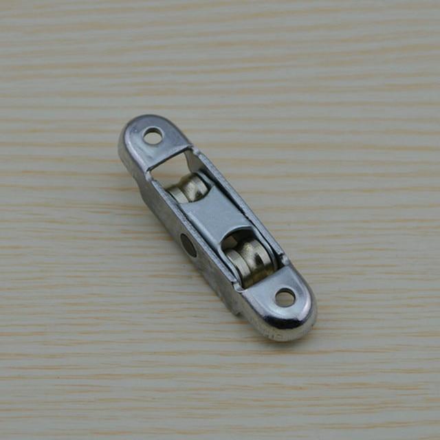 Silent Steel Windows Pulley Wheel Sliding Door Sash Accessories Home Hardware Dual Chamber