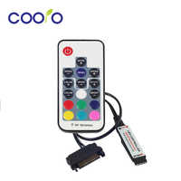 12 V SATA RGB Controller RF Remote Controler Für PC Fall LED Streifen