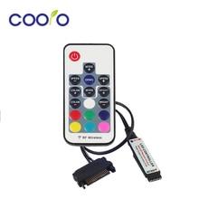 Mando a distancia SATA RGB de 12V, mando a distancia RF para caja de PC, tira LED
