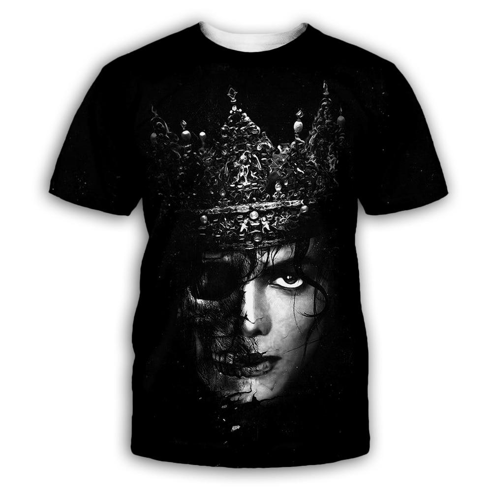 PLstar Cosmos Michael Jackson Shirts Tee Vintage Retro Thriller Men High Quality Tees Top Tee T Shirt Harajuku Streetwear in T Shirts from Men 39 s Clothing