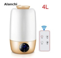 Humidifier Essential Oil Diffuser Aroma Diffuser Ultrasonic Humidifier 4l With Remote Controller