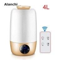 Humidifier Essential Oil Diffuser Aroma Diffuser Ultrasonic Humidifier 4l With Remote Controller