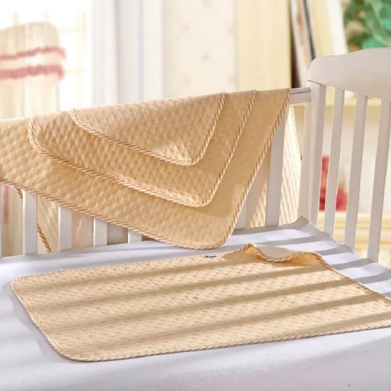 3 Size Baby TPU Waterproof Sheet Mattress Washable Reusable Incontinence Pads Color Cotton Baby Changing Mat Waterproof Bed Pads