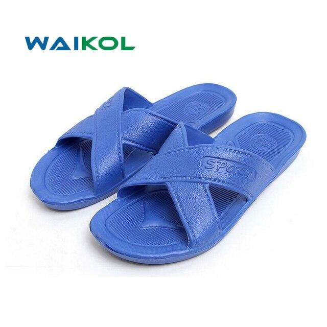 Mens Bath Slippers  Male Fashion Summer Sandals l Beach Flip-Flops Shoes