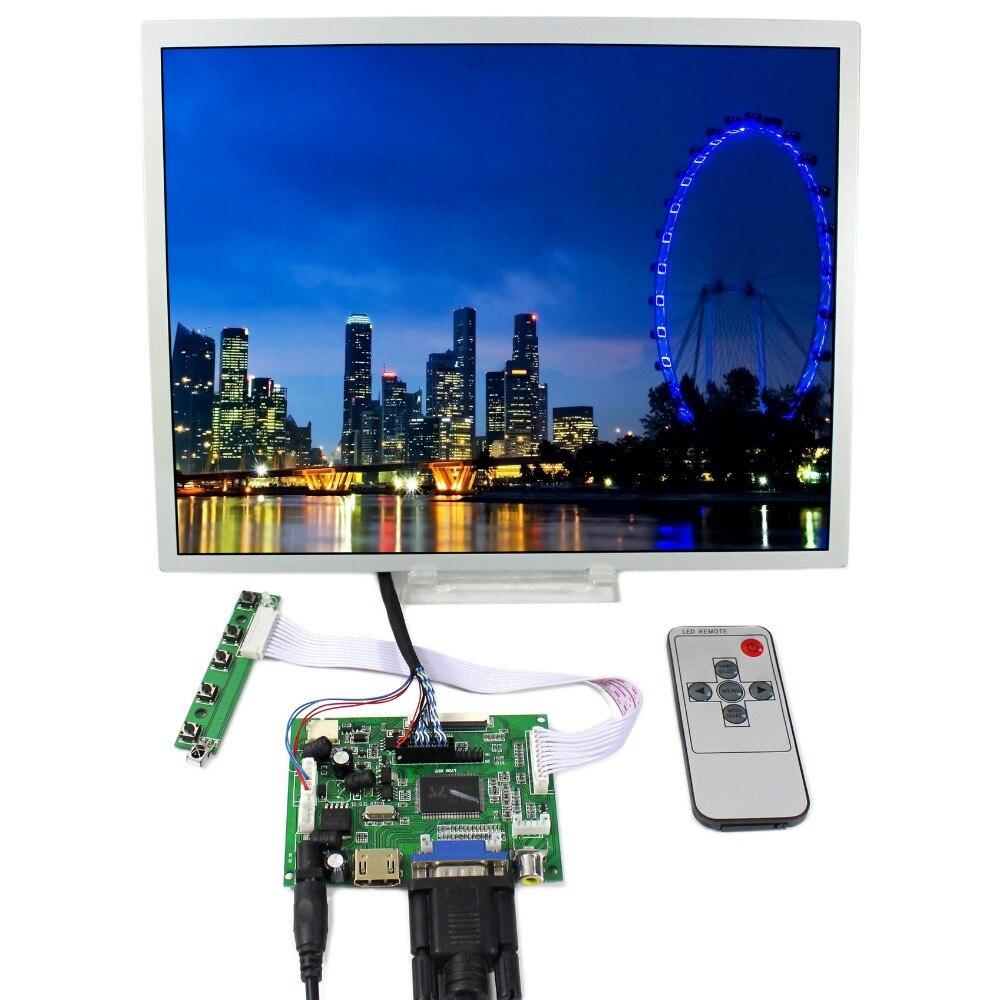 HDMI VGA 2AV LCD LCD Controller Board+12.1 LQ121S1LG75 800x600 LCD Screen