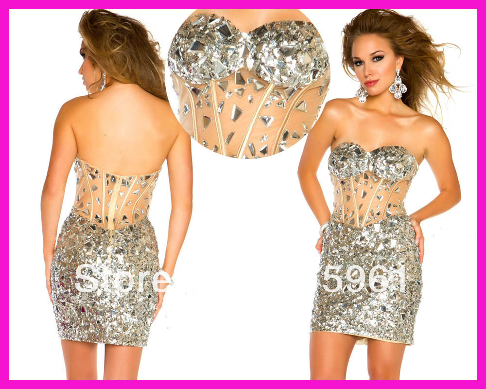 Online Get Cheap Silver Sequin Cocktail Dress -Aliexpress.com ...