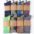 Popular de Lujo Hombres mujeres calcetín Calcetines Hip hop Street Fashion 5 PARES