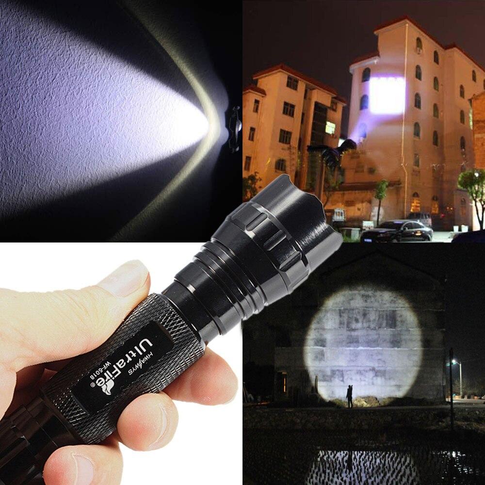 Led Lighting Humorous High Quality 2000 Lumen Xml T6 Led Led High Power Flashlight Torch Led Torch Flashlight Latarka Handheld Linterna Lanterna Power Quality And Quantity Assured