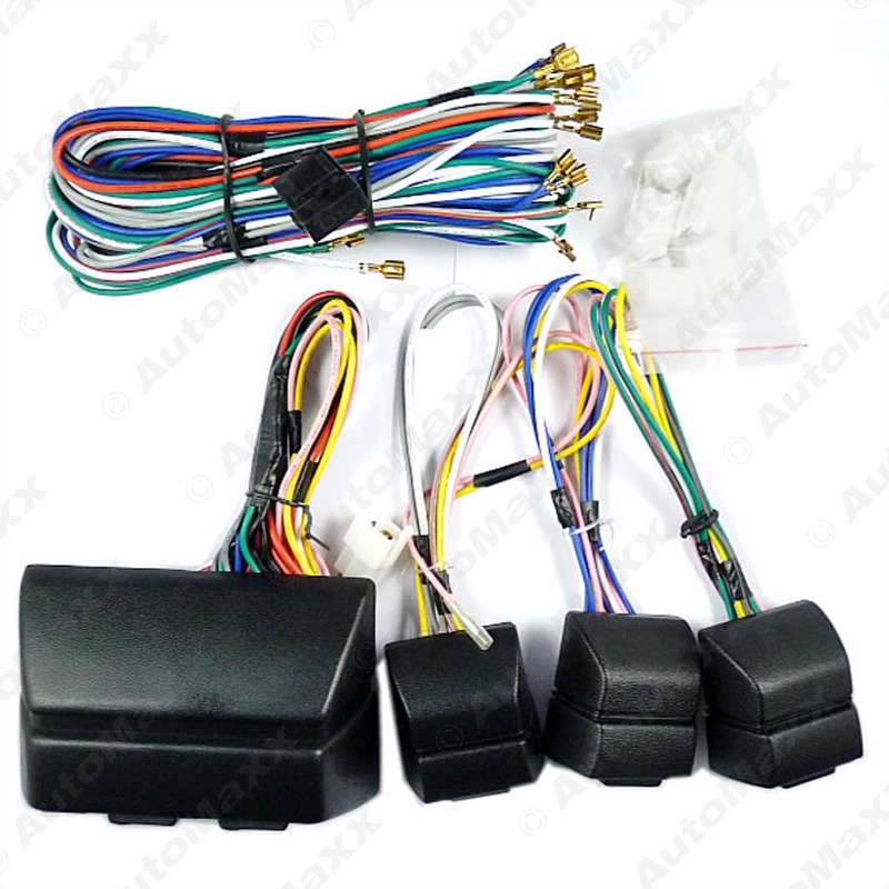 universal power window 8pcs switches with Holder and wire Harness J 2469