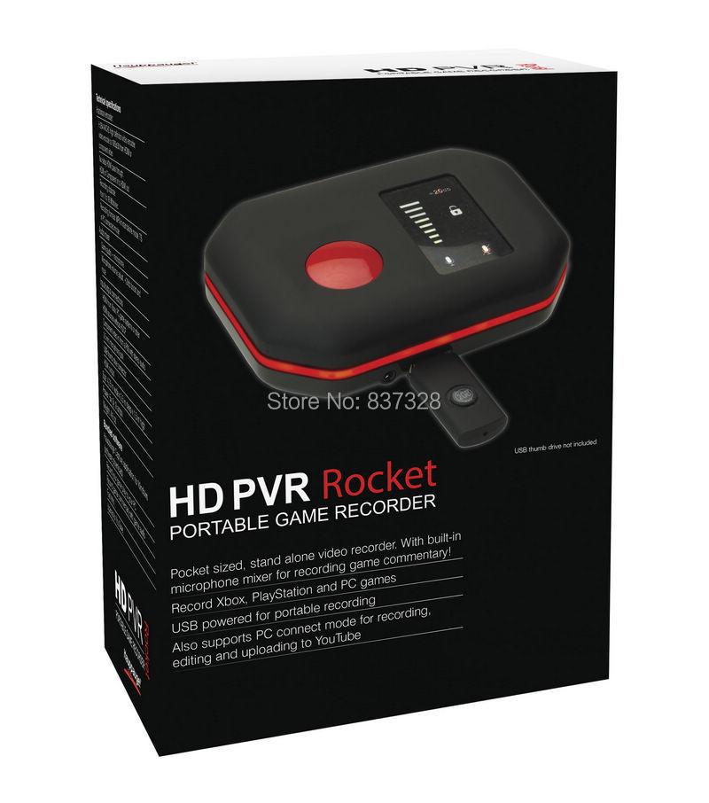 Xbox One, Xbox 360, PS4, PS3 və PC Oyun Sistemi üçün Hauppauge HD PVR Roket Portativ Qalıcı HD 1080p Video Oyun Səsyazması