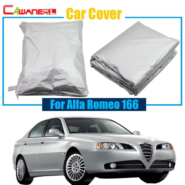 Cawanerl Car Cover Sun Shade Anti UV Snow Rain Sun Resistant Car-Cover For Alfa Romeo 166