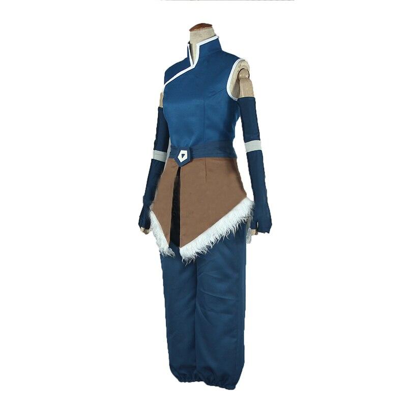 Anime Avatar The Legend of Korra Korra Cosplay Costume Halloween Costumes Custom Made Any Size