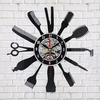 Creative Vinyl Wall Clock 1