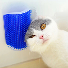 Curved cat self Brush hair products harmless Crystalline polymer material massager for pets grooming supplies