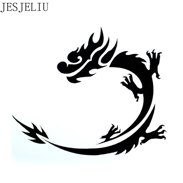 1pc Dragon Shape Reusable Stencil Airbrush Painting Art Diy Home