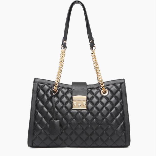 2018 Fashion Branded Designer Handbag High Quality Quilting Women Messenger Bags Ladies Metal Chain Shoulder Bags  by Popigist