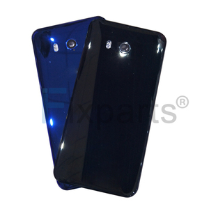 Image 5 - original NEW For HTC U11 Battery Cover With Camera Lens Glass Door Back Housing Case For HTC U11 U 3w W 1w Back glass back cover