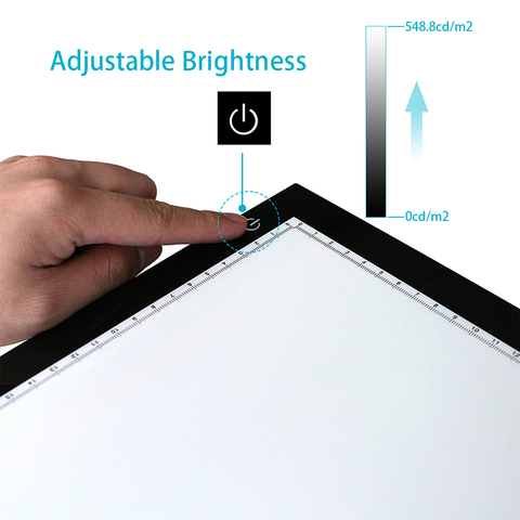 Huion New A2 LED Tracing Boards Ultra Thin Light Pads Professional Animation Tracing Light Boxes LED Light Pad Panels Islamabad