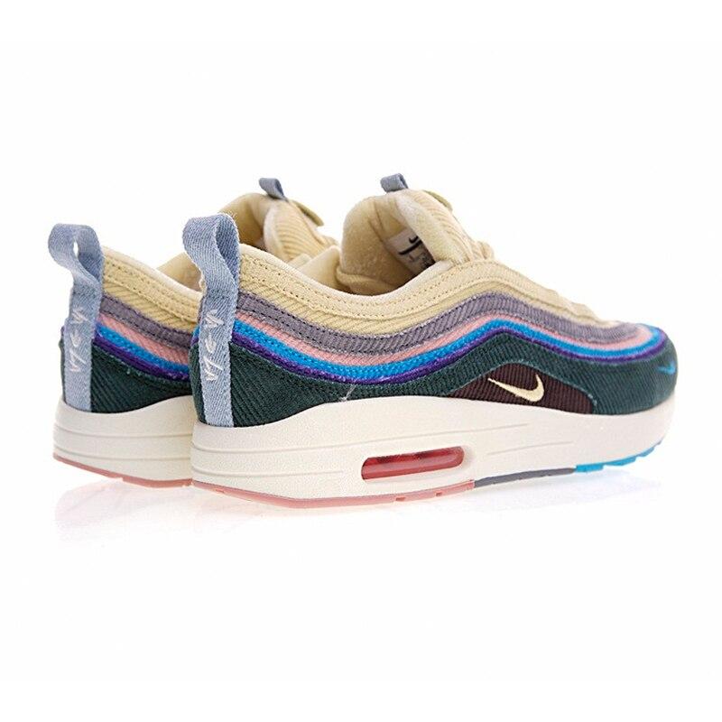 be8c90b5aa35c4 Nike Air Max 1/97 VF SW Для мужчин кроссовки, оригинальный Новое  поступление Аутентичные Мужская дышащая обувь Спорт на открытом воздухе  кроссовки обувь ...