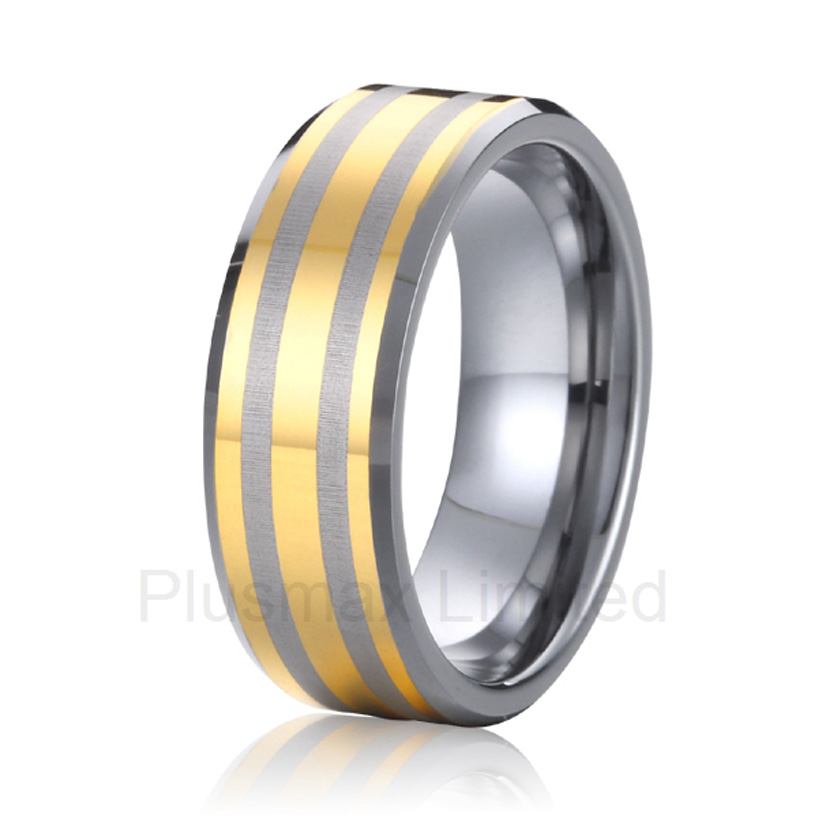 high quality Custom jewelry exotic style titanium wedding band finger rings men high quality professional and reliable jewelry factory design your own titanium wedding band finger rings