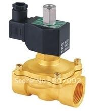 1 «Электрический Электромагнитный Клапан Нормально Открытый Воды Электромагнитные Клапаны Модель 2W250-25-NO 12-240 В AC/DC