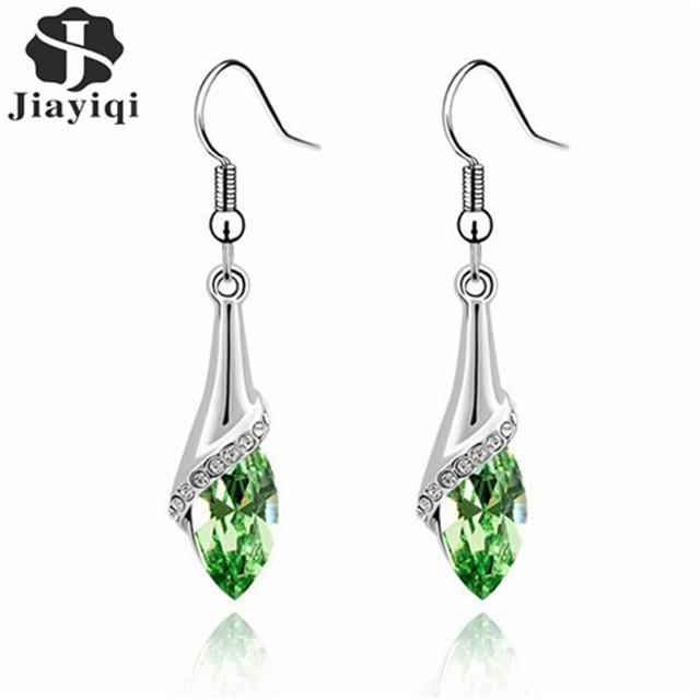 Women's Crystal Dangle Drop Earrings