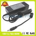 19 В 490002140A 4.74A ноутбук адаптер переменного тока зарядное устройство для LG P300 R200 R500 R700 Express Dual R700-U R700-X RB200 RB710 RV710 R500-V