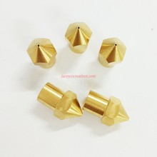 0.6mm 3d printer nozzle Brass Hotend Original CreatBot Printer Parts( 5 pcs/ lot) Metal 3D Printer for Sale