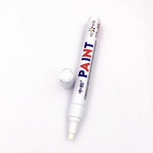 Image 2 - Wasserdichte Stift Auto Reifen Reifen Farbe Marker Stift für dacia duster mercedes w203 volvo xc60 renault megane peugeot 508 renault