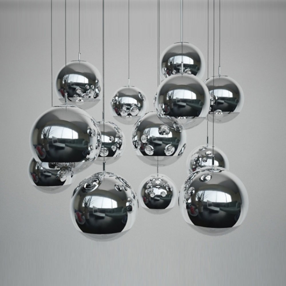 Led Glass Pendant Light 110-220v Lustre Lighting Dining Room Lights E27 Postmodern Dining Lighting Glass Ball Lamp Luminaria new 19 lights idle max sea urchins glass pendant light lamp ems dining room lights bar hone lighting zl332