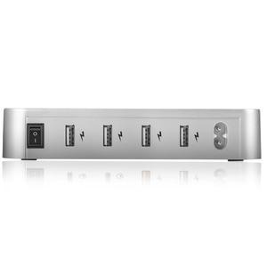 Image 3 - 4 Ports USB Hub universel Multi dispositif Station de charge chargeur rapide amarrage 24W pour iPhone iPad Samsung Galaxy LG tablette PC HTC