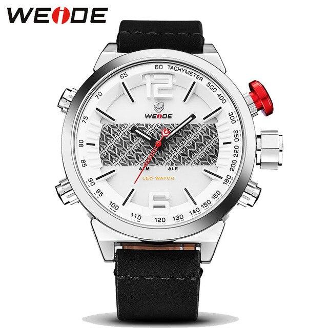 WEIDE Reloj Hombre Reloj Deportivo Digital Para Hombre Relojes de Marca de Lujo de Los Hombres Militares Reloj de Cuarzo Hombre Reloj Hombre relogio masculino