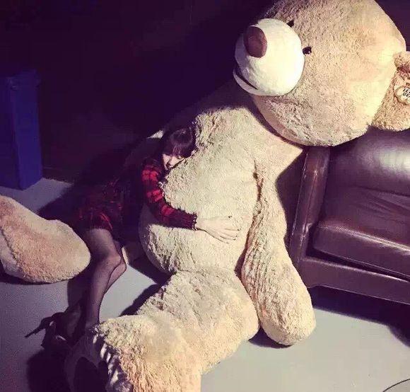 200cm énorme grand ours en amérique en peluche animal ours en peluche couverture en peluche peluche poupée oreiller couverture (sans choses) enfants bébé adulte cadeau