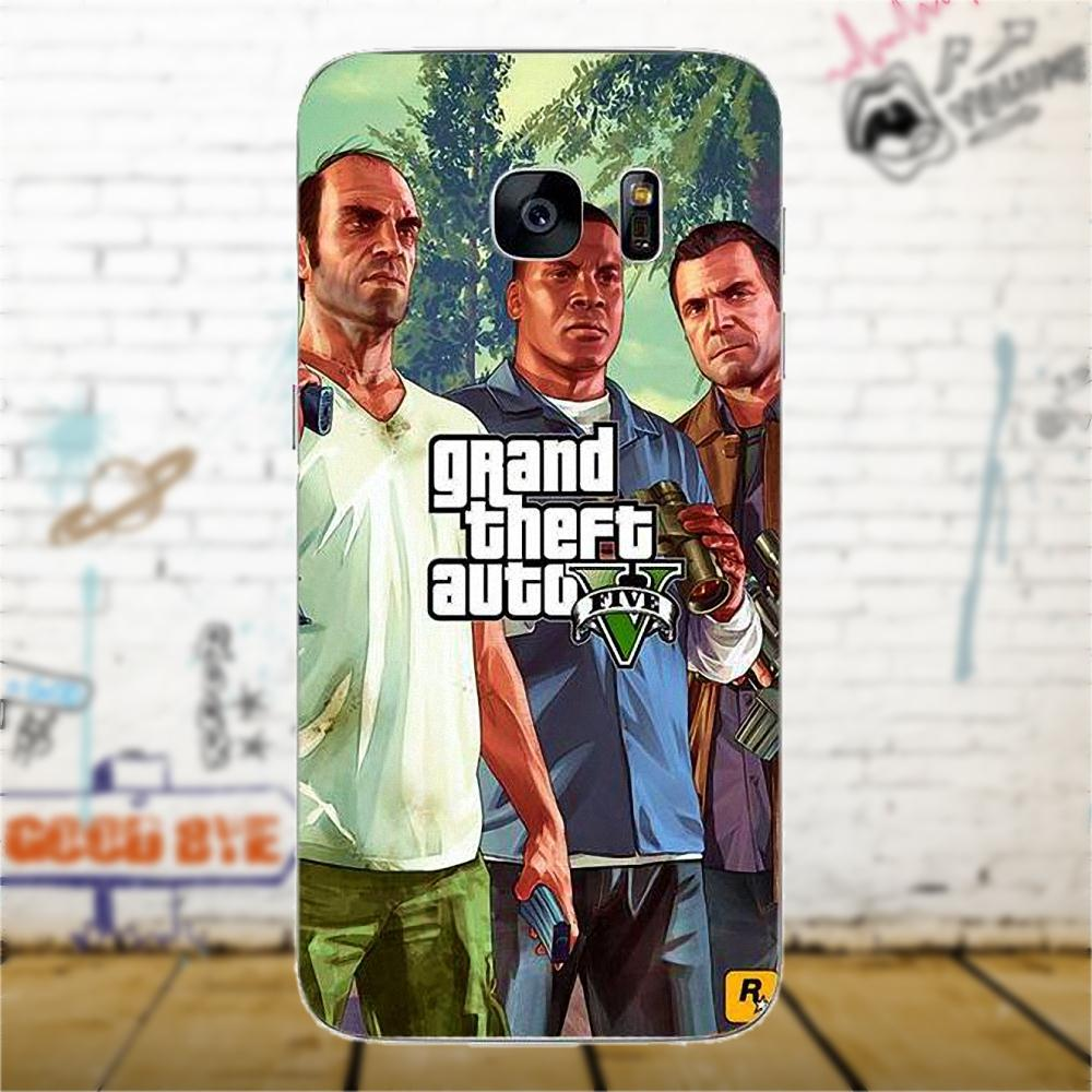 Bixedx Tpu Case Grand Theft Auto Gta V Design For Samsung Galaxy A3 Flip Wallet Cover Casing S6 Edge Plus Bulk Pack Biru Original Product Pictures Are Provided Customers