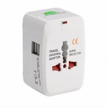 Alle in Einem Universal Internationalen Stecker Adapter 2 USB Port World Travel AC Power Adapter Ladegerät AU US UK EU konverter