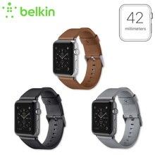 Nueva Llegada Belkin Original Italiana Clásica Correa de Cuero Banda para Apple F8W732 Reloj 42mm con El Paquete Al Por Menor Envío Libre
