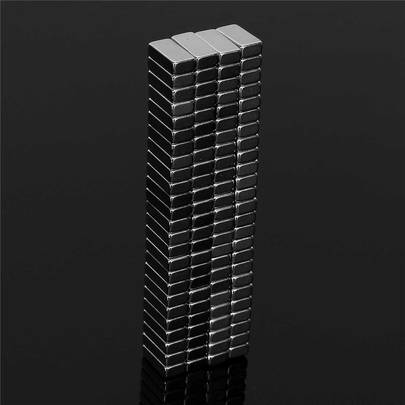100Pcs 10 x 3 x 5mm N50 Strong Block Magnets NdFeB Neodymium Rare Earth Permenent Magnets 10mm*3mm*5mm Magnet Hot Sale arrival 8pc 50 25 12 5mm craft model powerful strong rare earth ndfeb magnet neo neodymium n50 magnets 50 x 25 12 5 mm