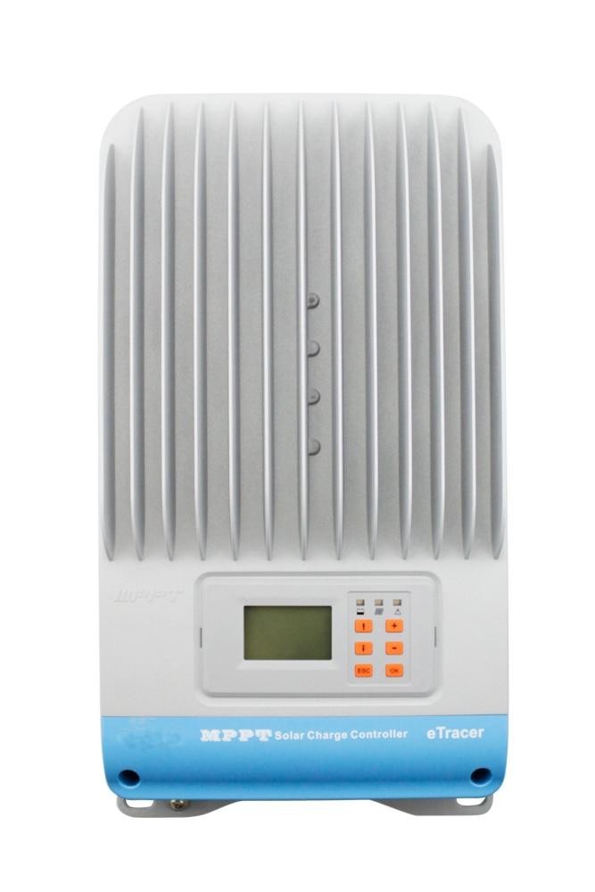 60A 12V 24V/36v/48v Auto New Tracer ET4215BND MPPT Solar Charge Controller high quality 12v 24v 48v auto 60a mppt solar charge controller