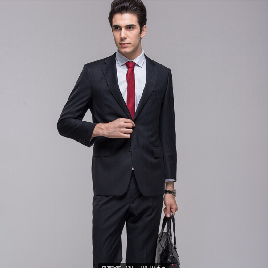 New Design Best Custom Made Mature Men's Suits Wedding Wear Coat and Pants Formal/Business Prom Clothing  Groom Wear