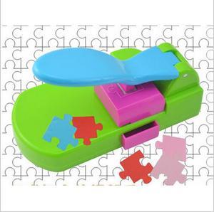 Image 1 - Puzzle maker ręcznie zabawki, aby puzzle przez siebie, craft dziurkacz/diy narzędzia handy. Puncher. Puzzle