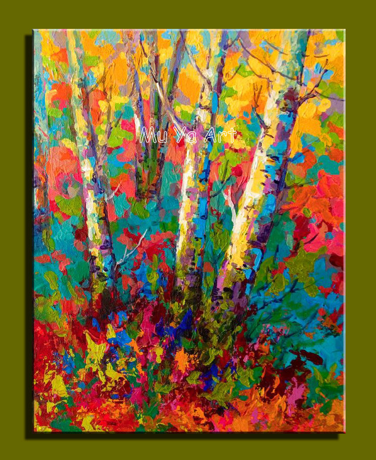 Used Green Nature Wall Art Canvas