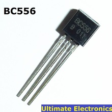 50pcs BC556 PNP General Purpose Transistor TO-92 Switching and Amplifier