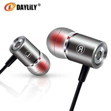 Daylily D0 headphones wired fone de ouvido music earphone  auriculares phone headset bass Earphones Metal microphone headset pc