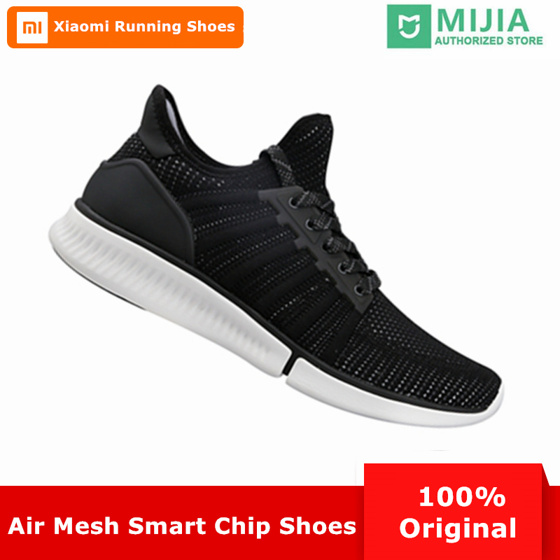 b3a354b53650 Xiaomi Mijia Smart Men Running Shoes Outdoor Sport Mi Male Sneakers  Breathable Air Mesh Zapatillas Mujer